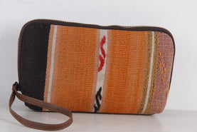 Make-Up Bag / Large Yellow Navajo Style Toiletries Case Bags