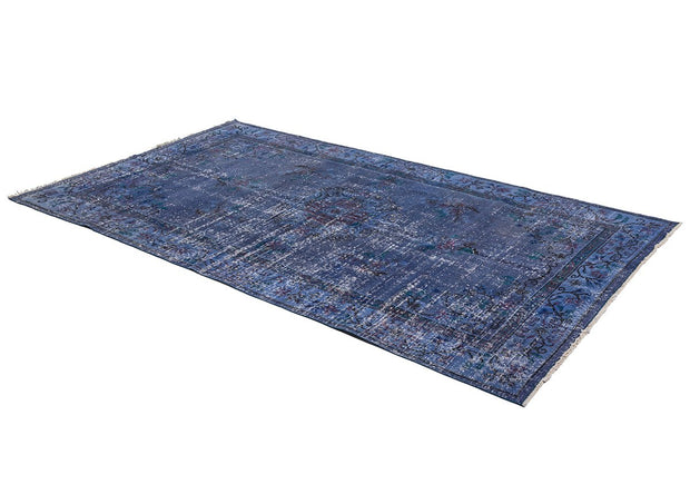 Navy Blue Rug 5x8 FT