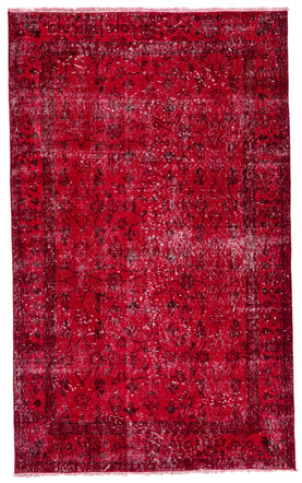 Red Vintage Rug Recolored Carpets