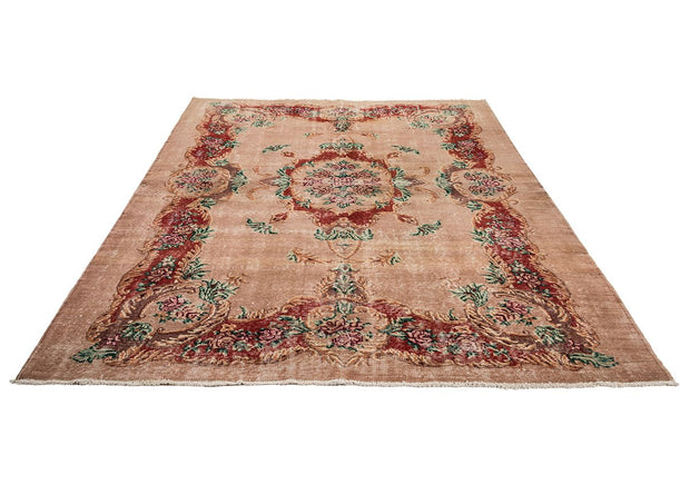 Vintage Overdyed Rug Recolored Carpets