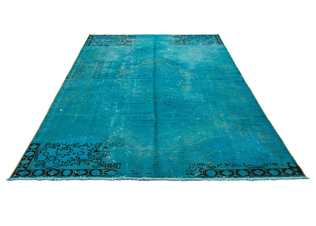 Retro Turquoise Rug Recolored Carpets