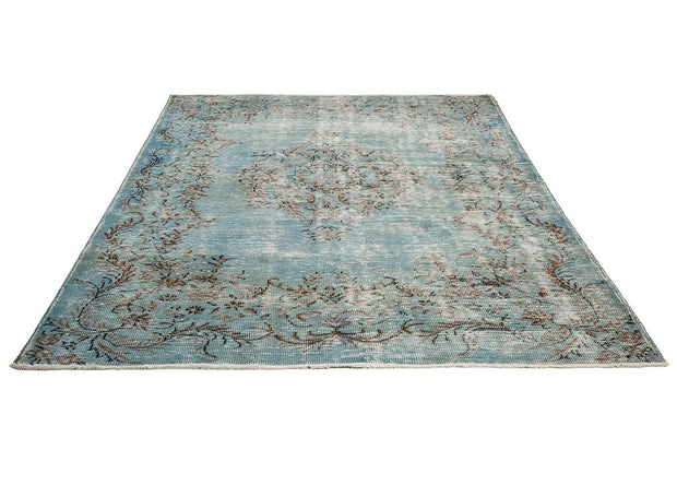 blue living room rug