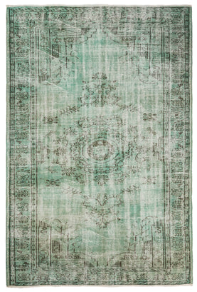 Green Bohemian Rug Recolored Carpets