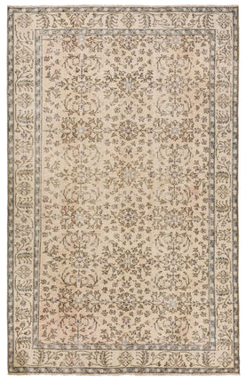Cream Color Floral Rug Recolored Carpets