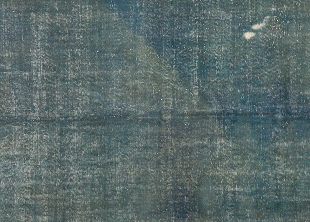 Overdyed Blue Rug