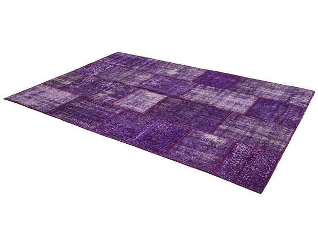 Purple Wool rugs