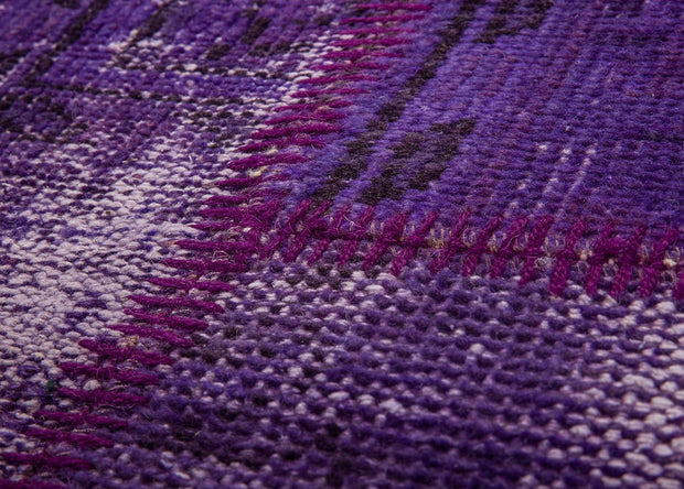 Purple Patchwork Rugs