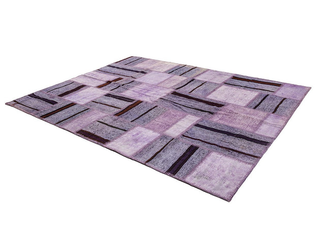 Striped Hemp Rug Kilim Patchwork