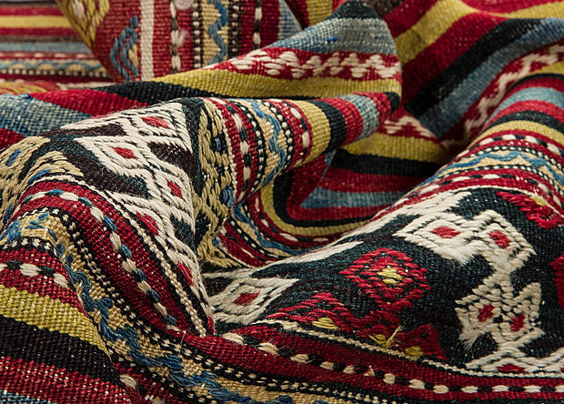 Chevron Wool Kilim Rug Rugs