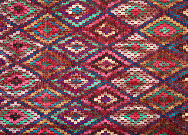 Decorative Pink Diamond Kilim Rug Rugs