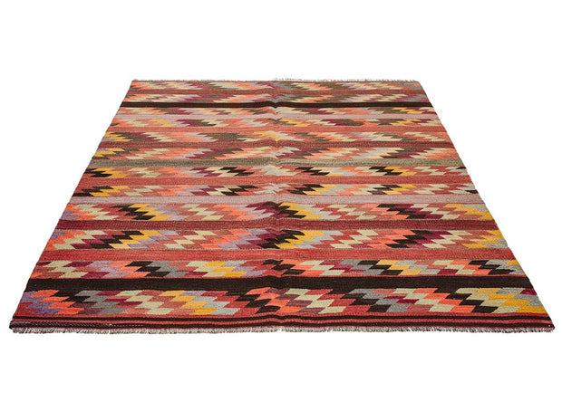 Striped Area Rug Kilim Rugs