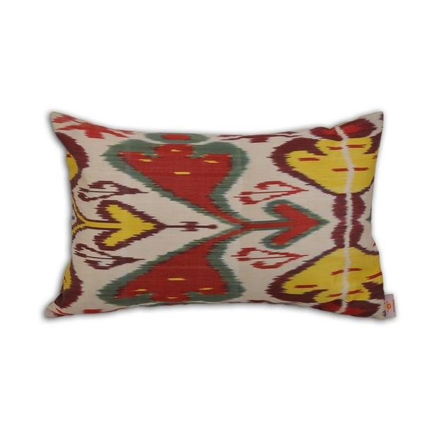 Multicolored Turkish Ikat Pillow
