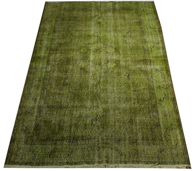 Vintage Green Rug Recolored Carpets
