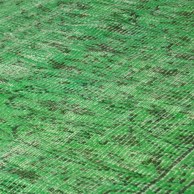 Green Wool Area Rug