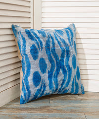 Blue Velvet Pillow Case