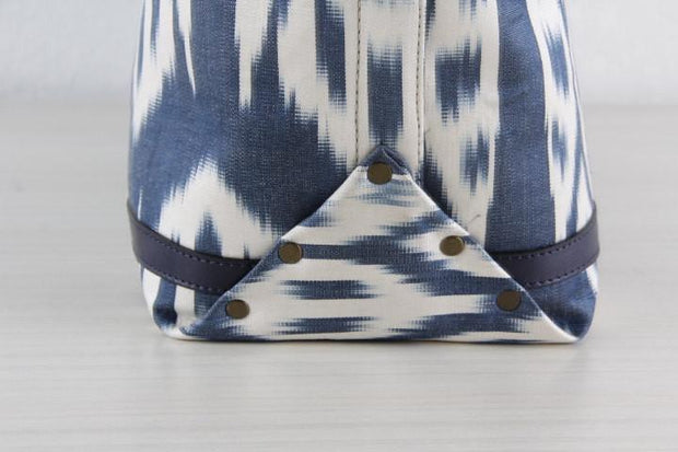 Ikat Beach Bag