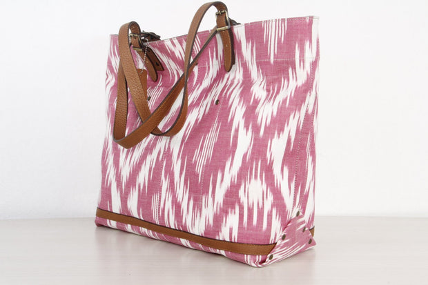 Large Ikat Beach Bag