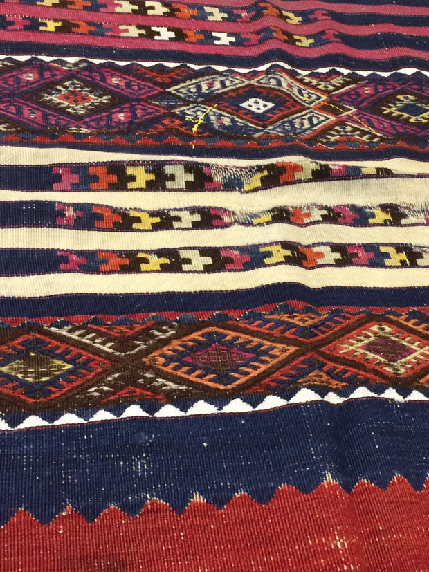 Antique Fragment Kilim Rug Rugs