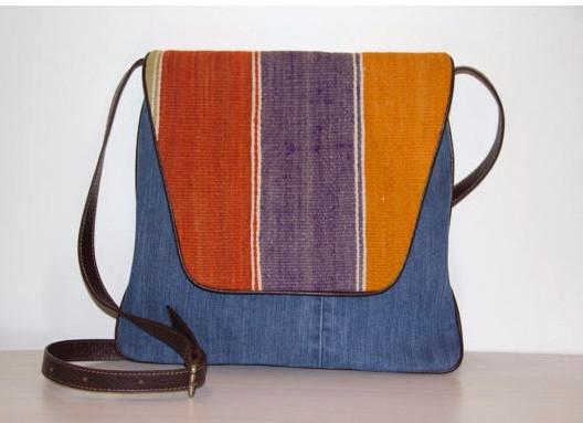 Denim Bag Kilim Crossbody Bags