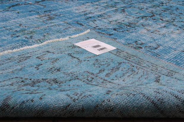 Blue Overdyed Rug