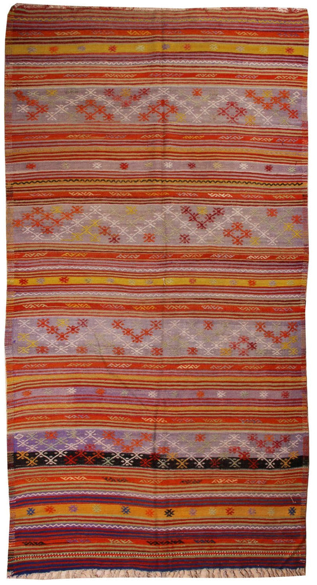 Turkish Kilim Rug 9'x5'