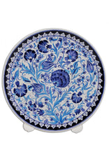 Turkish Iznik Ceramic Plate