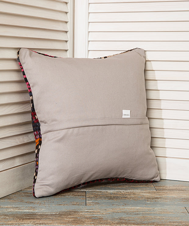 Pink Navy Eclectic Pillow