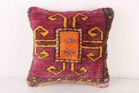 Decorative Purple Pillow Cover Carpet Pillows