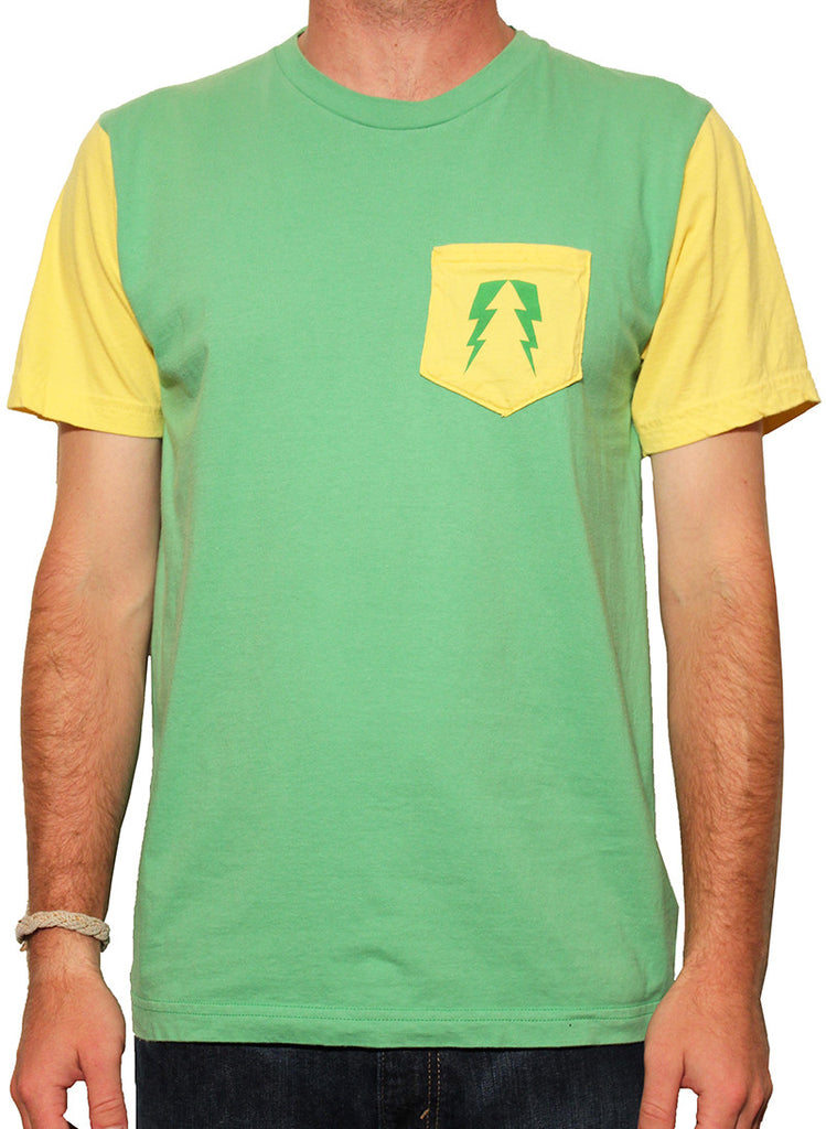 Yellow Sleeves Tee
