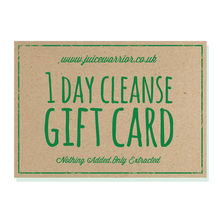 Load image into Gallery viewer, 1 Day Juice Cleanse Gift Voucher