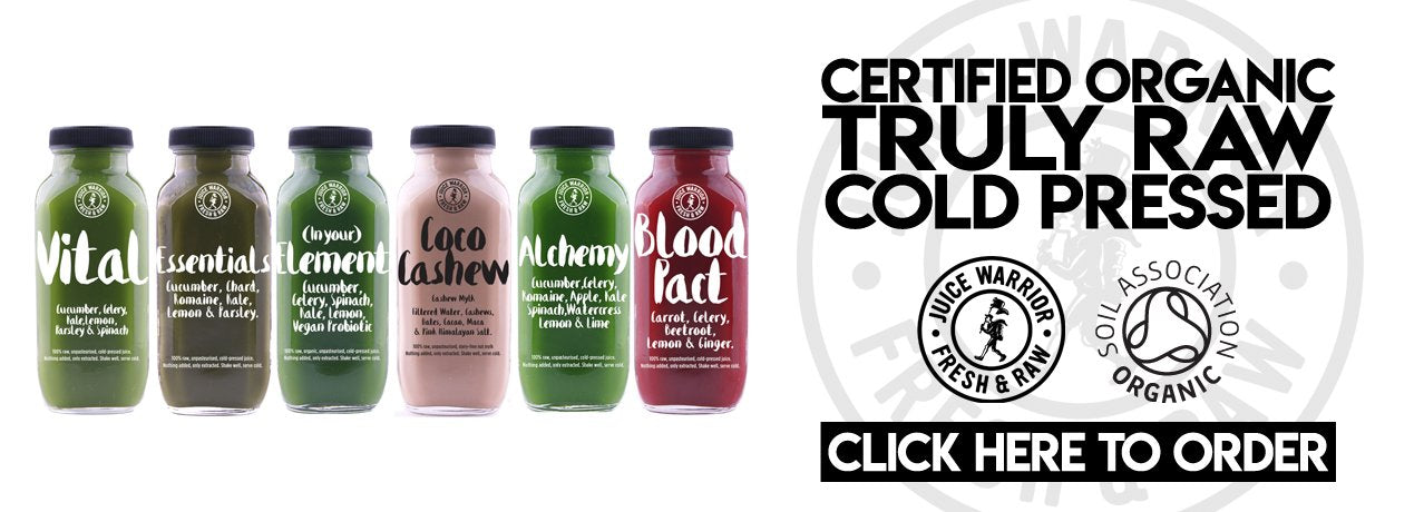 Juice Warrior Juice Cleanse UK Organic Free Delivery
