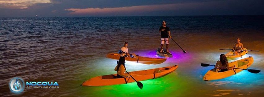 NOCQUA Spectrum - Color LED Lighting System for Paddle Boards/SUPs and Kayaks