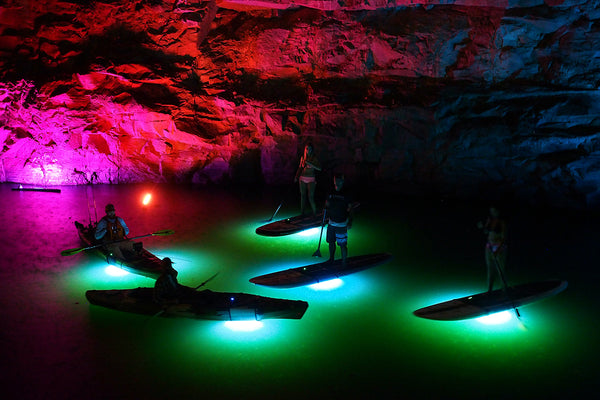 Nocqua Sport Edition Compact White LED Lighting System for SUP's