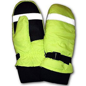 GFP 485 Thinsulate Lined, Waterproof, Super Duty Hi Vis Traffic Mitten, XS - 2XL