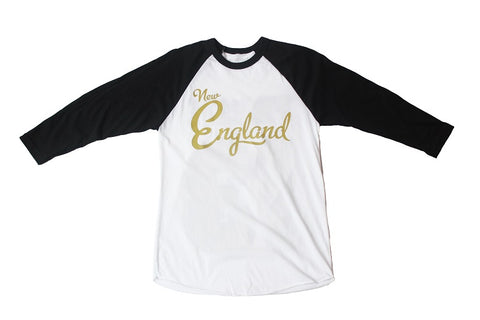 New England Golden Sluggers Replica Jersey Baseball Tee