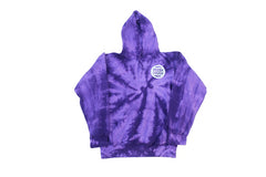 Circle FD Tiedye Pullover Hoodie (Purple Twist)