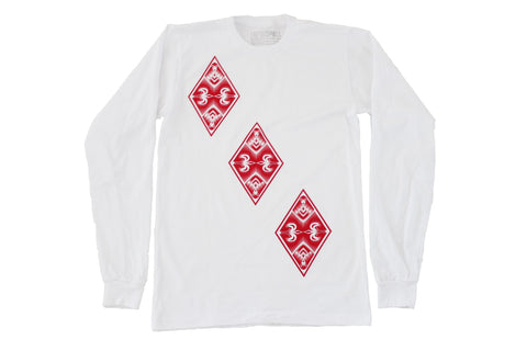 Three of Diamonds Long Sleeve
