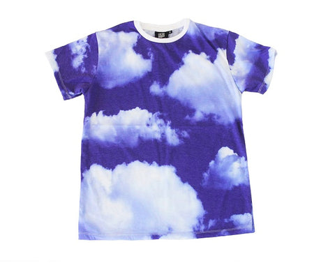 Blue Sky and White Clouds Tee