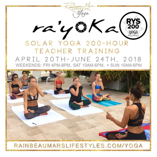 ra'yoKa RYT 200-Hour Teacher Training :: DEPOSIT