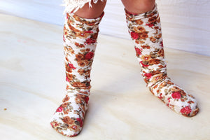 Knee-High Sock | Vintage Floral