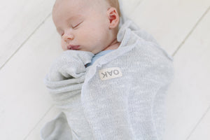 The Essential Swaddle Blanket | Silver