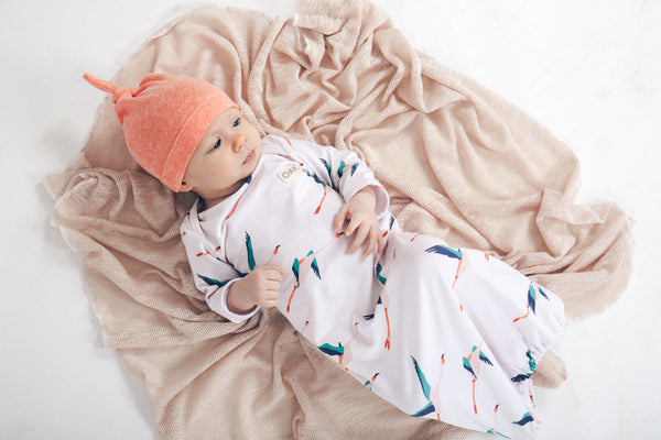 Baby Gown | Jumbi Bay Flamingo