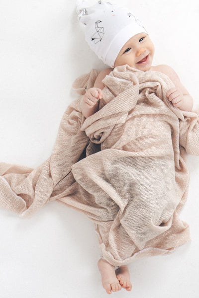 The Essential Swaddle Blanket | Blush