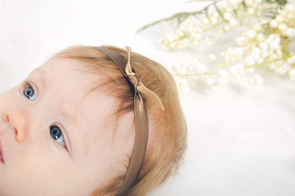 Headband | Knotted Bronze