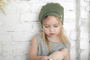 The Essential Slouch Beanie | Olive