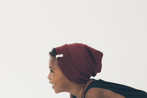 The Essential Slouch Beanie | Burgundy