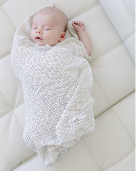 The Essential Swaddle Blanket | Beach Sand
