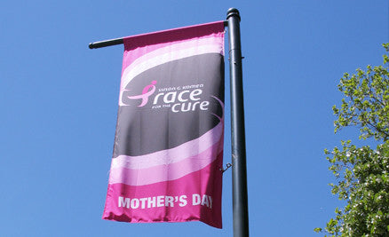 Street Pole Flags | Promotional Flag NZ