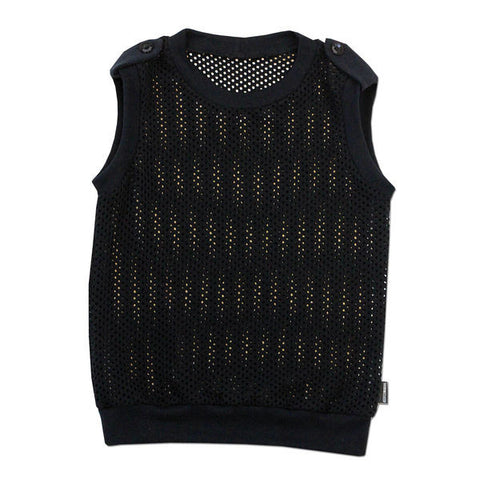 Cut It Out Mesh Vest - theMINIclassy