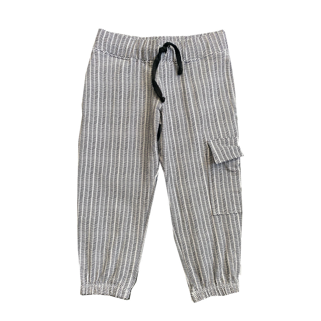 ONE-OF-A-KIND Herringbone Jogger - size 2 - theMINIclassy